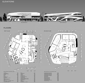 ELEVATIONS AND FLOORS