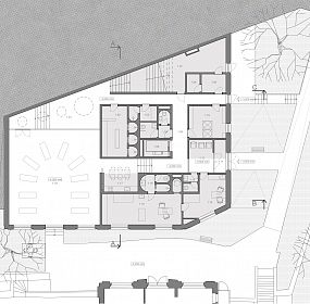 Matenity center Letna. plan I.floor