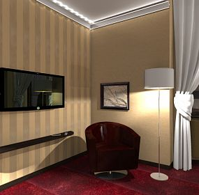 Hotel room - visualization