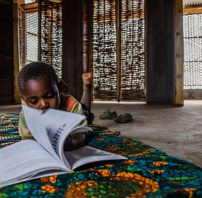 Amani Library - Reading Room
