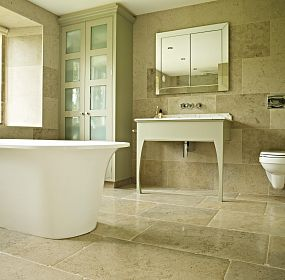 Portuguese Limestone Floor and Wall Tiles