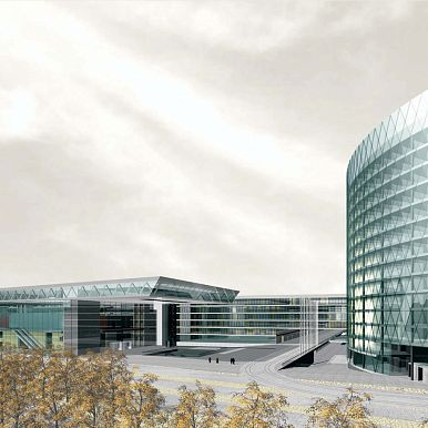 2003 - COMPETITION KONRAD ADENAUER BUILDING FOR THE EUROPEAN PARLIAMENT - LUXEMBOURG - LUXEMBOURG
