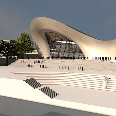 2009 - COMPETITION FOR CONCERTHALL BEETHOVEN - BONN - GERMANY
