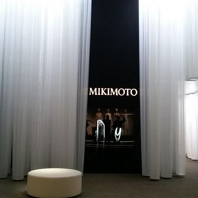 MIKIMOTO's stand design in Baselworld 2014 / 2014