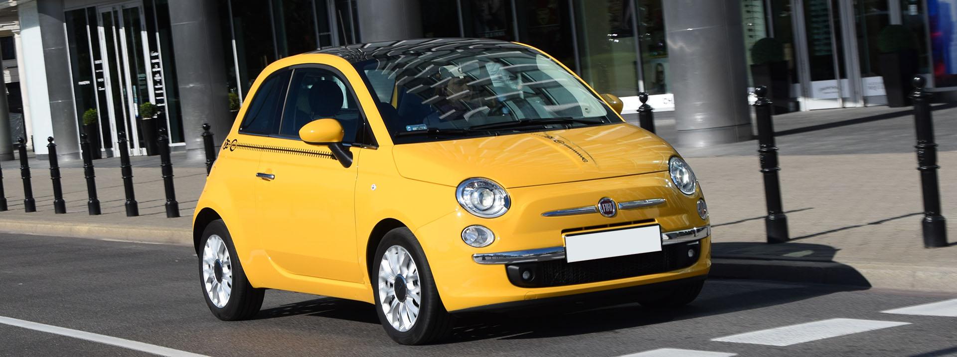 Fiat 500 Gebrauchtwagen bestellen