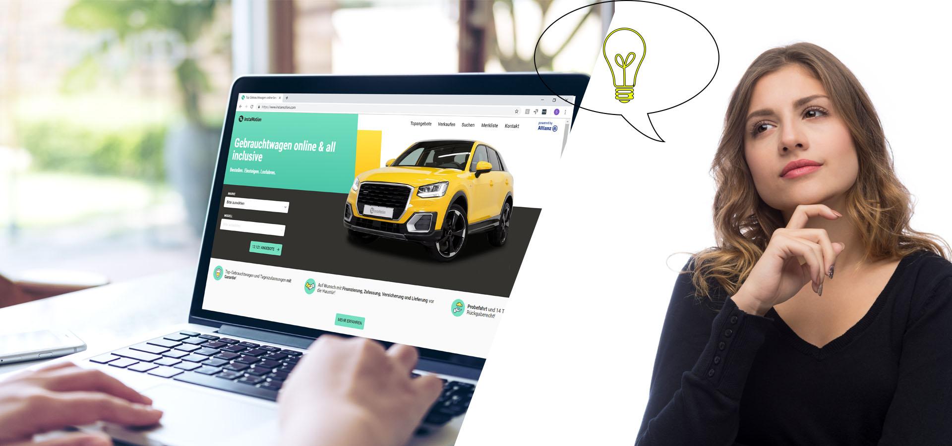 So funktioniert Gebrauchtwagen online kaufen
