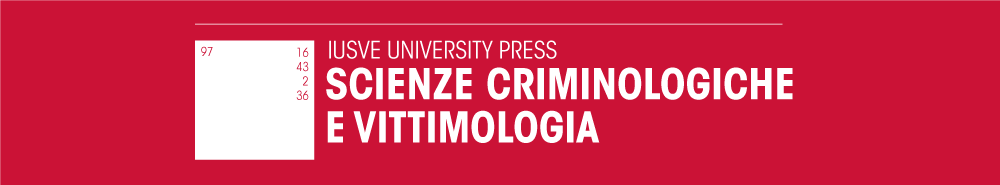 SCIENZE CRIMINOLOGICHE
