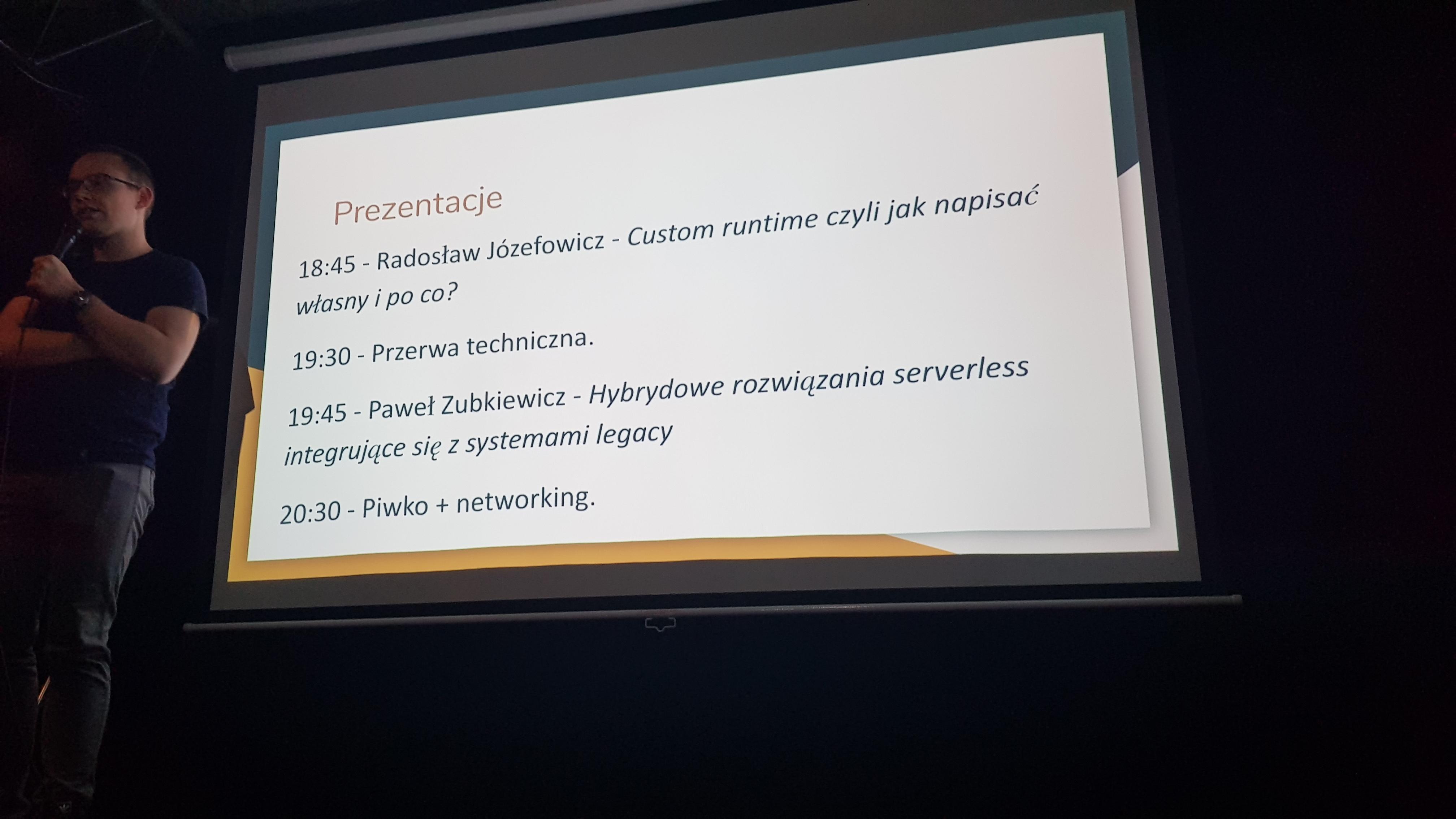 Serverless #9 Wrocław Meetup