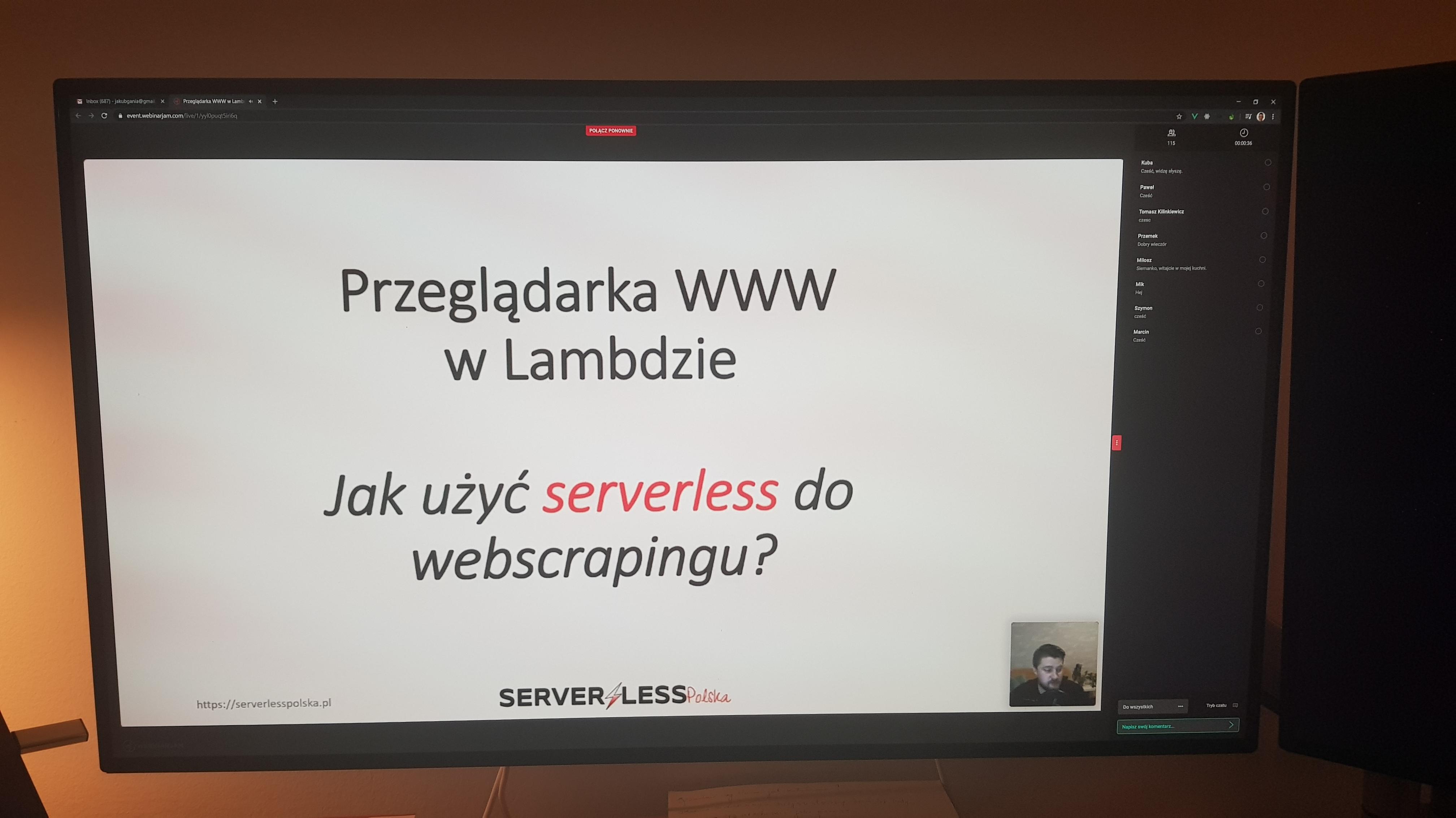Jak użyć serverless do webscrapingu ?