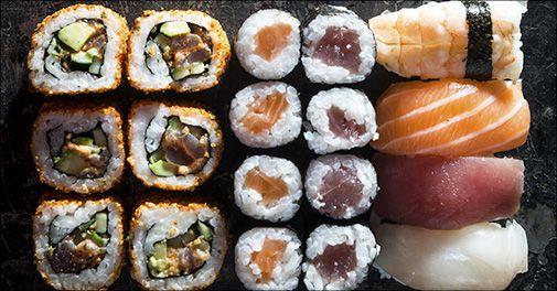Take away sushi pakke, 64 stk.