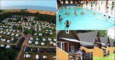 Turen går til populære 4½ stjernede Dokkedal Camping