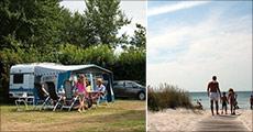 Sommer, sol og camping på Langeland..