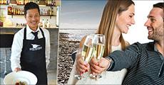 Gourmetophold ved Vadehavet..