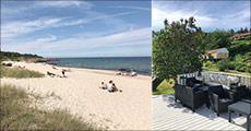 Miniferie på Bornholm i ferielejlighed..