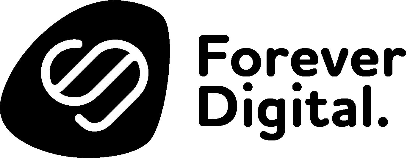 Foreverdigital logo black