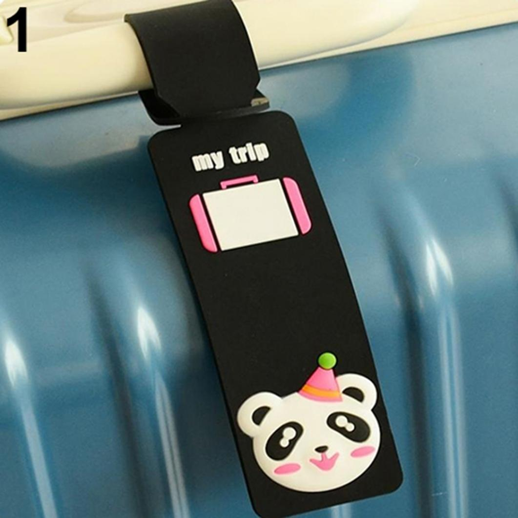 Милый дизайн животных силиконовые Камера тег имя адрес идентификатор чемодан метка эксперт вэ 96н экспресс идентификатор металлов