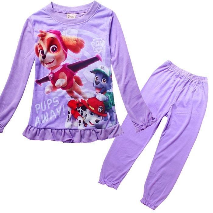 От имени собаки патрульной лапы патруль дома мебель детей одежда костюм для детей детей пижамы де... одежда для детей