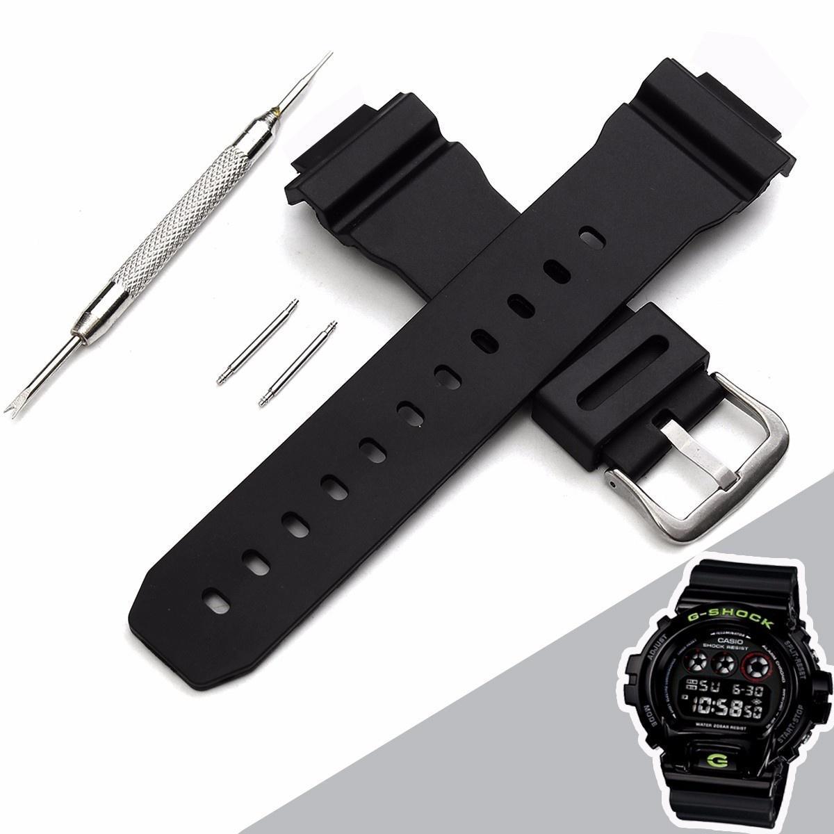 J3 Замена наручные Band ремень Пряжка браслет для Casio G-Shock DW-6900 с уха пакетного & иглы 26... casio g shock g classic ga 110mb 1a