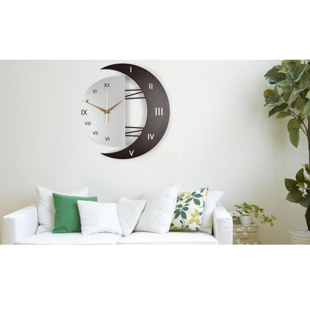 Творческие моды часы немого кварц движение часы Часы Крытый декор стен декор для стен