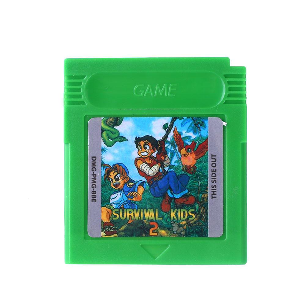 Выживание детей 2 Repro игра мальчик Цвет GBC/GB/GBA/SP видеоигр картридж только ламинатор gbc fusion 1000l a4 black