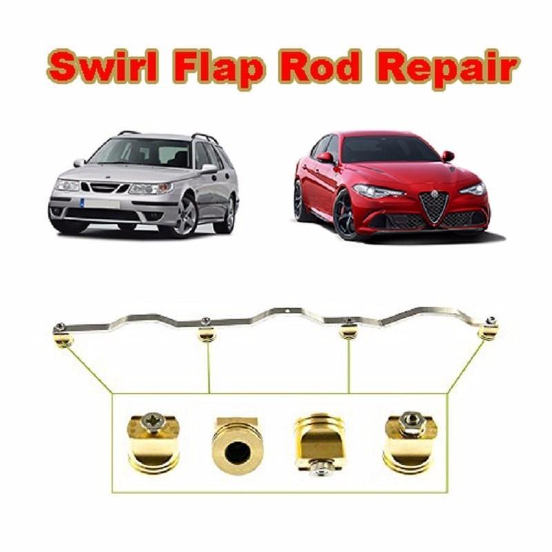 4 шт латуни вихревой заслонки заготовок ремонт для Vauxhall Saab Fiat Alfa Romeo 1.9 150BHP Дизель руководящий насос системы подходит alfa romeo 156 fiat scudo 46763561