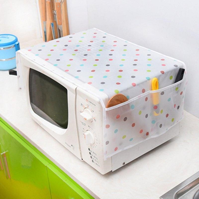 Универсальные Микроволновая суперобложка двойной карман Микроволновая печь крышку Полотенцесушите... микроволновая печь rolsen mg2380sd