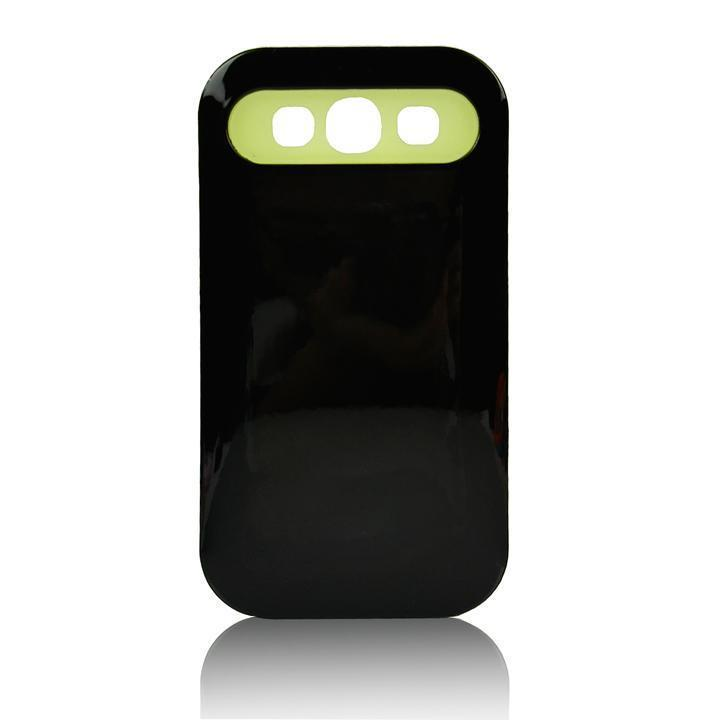 Двойной слой гибридный жесткий чехол для Samsung Galaxy S3 III I9300 черный чехол для для мобильных телефонов oem samsung s3 s iii i9300 i9305