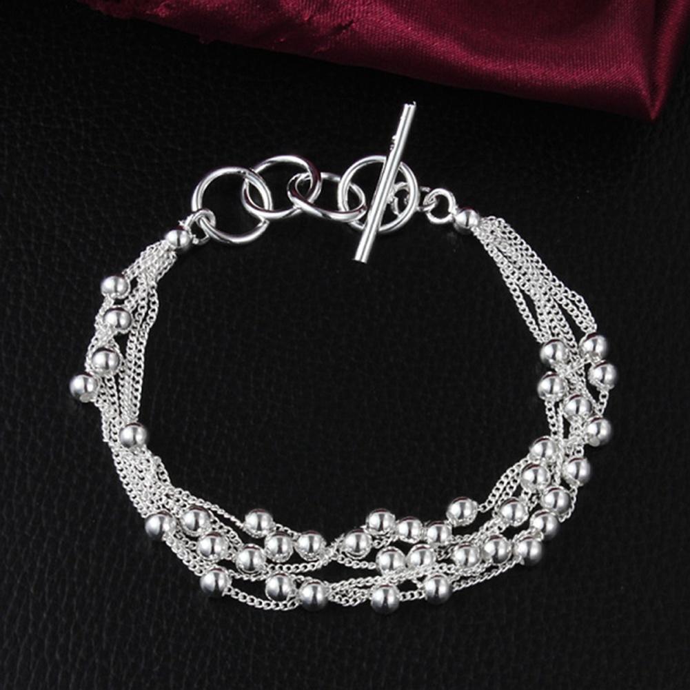 к 2015 году новые 925 серебряные ювелирные изделия ювелирные изделия свет гладкий шар винограда б...