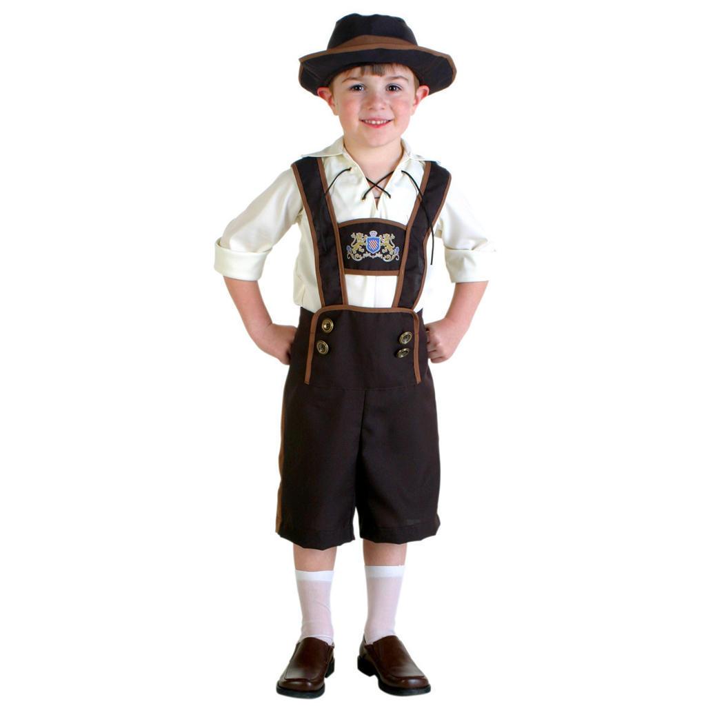 Весело костюмы-мальчики мальчишки малыш Lederhosen мальчик костюм костюмы wonderkids костюм