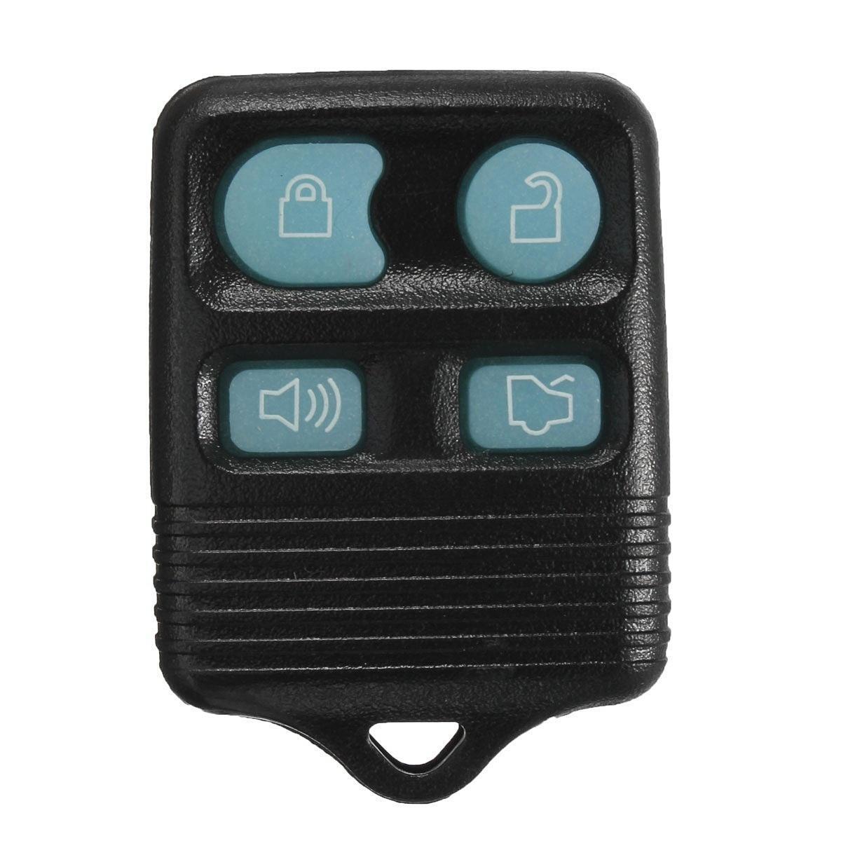 4BTN запись удаленного брелок случае кликер передатчик свечение в темноте для Форд Линкольн нержавеющая выхлопная система форд мондео 4