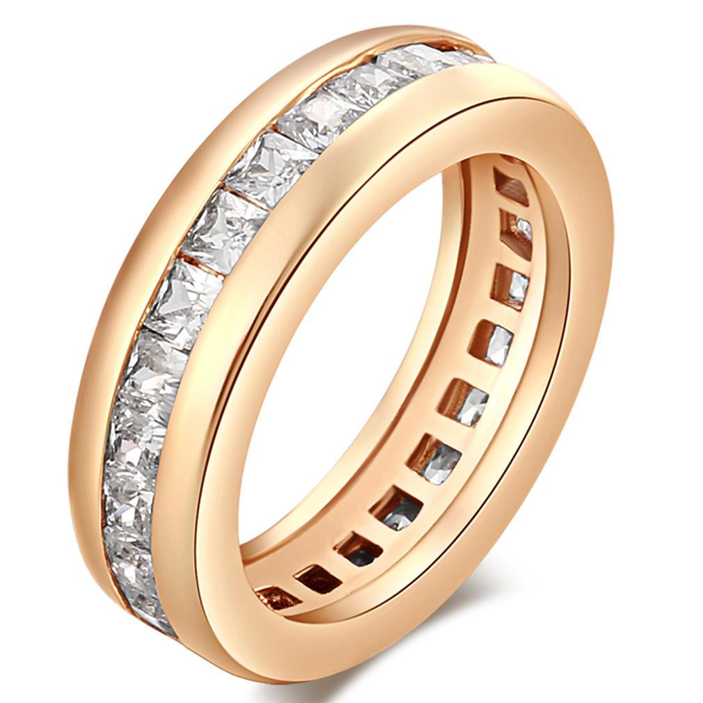 Женщины мода обручальное кольцо личности круглые кольца слоистых дизайн золотые кольца циркона ко...