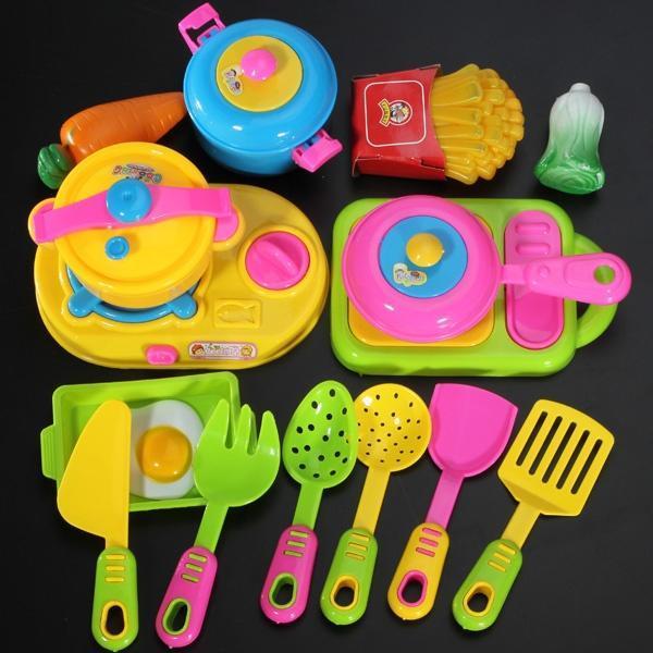 Набор детей Baby Игры смешные кухонная посуда игра игрушки детям хобби игрушки Образовательные Иг... посуда кухонная