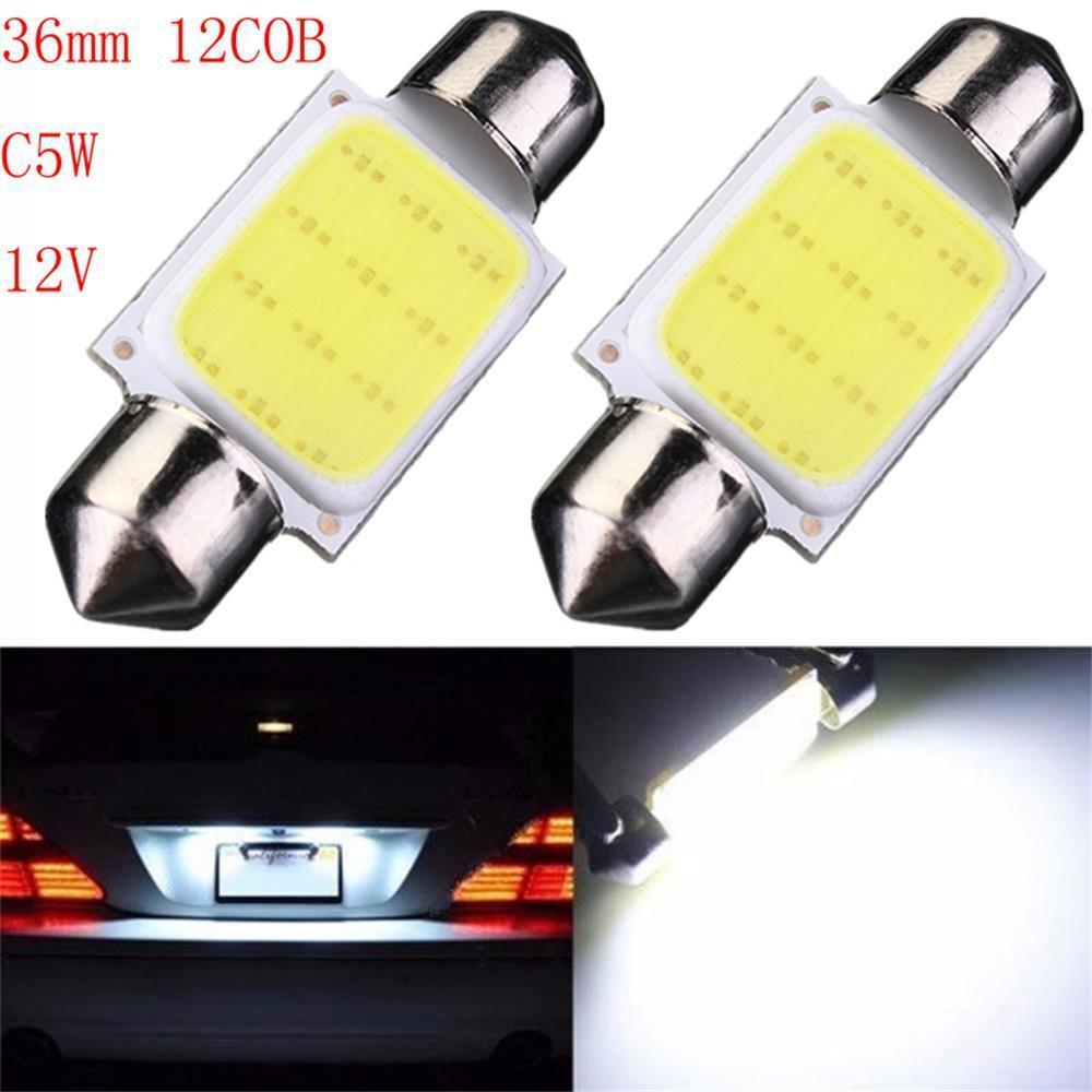 2шт дизайн интерьера авто купол чтения освещение лампы автомобильные светодиодные лампы автомобил... лампы освещение