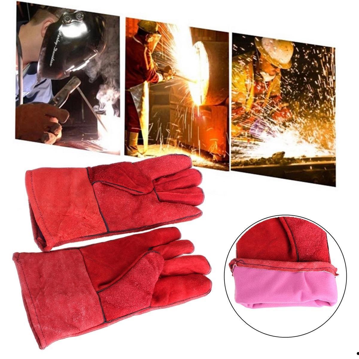 Сварочные перчатки кожаные