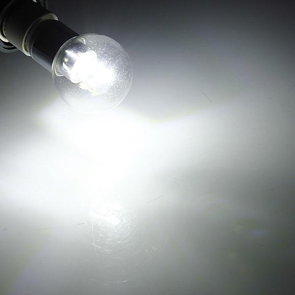 E27 4W 6 SMD 5630 AC110-240В белый/теплый белый Светодиодная лампа глобус светодиодная лампа no name 59 smd e27 230v 6 5w