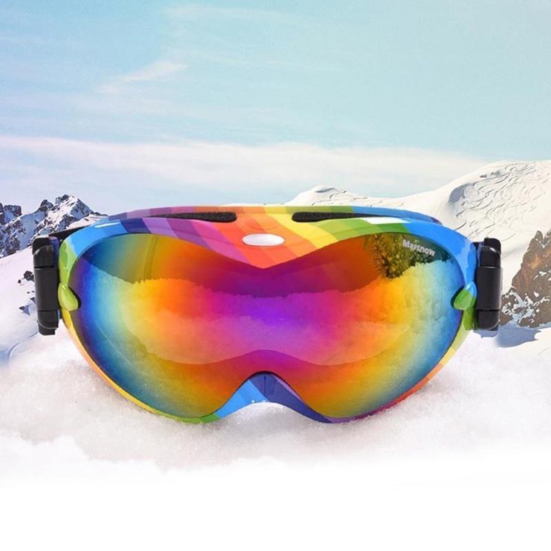 Профессиональные двойные линзы анти туман очки лыжные очки защитные аксессуар очки защитные truper t 10813