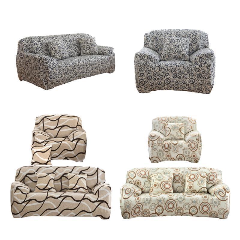 Софа Мебель покрытия Slipcover большой эластичных печатных диван крышкой