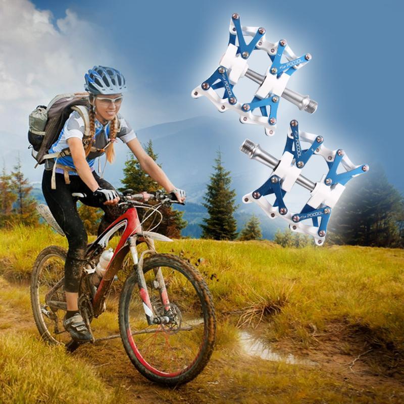 POCOOL F1 велосипед BMX алюминиевого сплава велосипедов педали DIY Трансформаторы трансформаторы