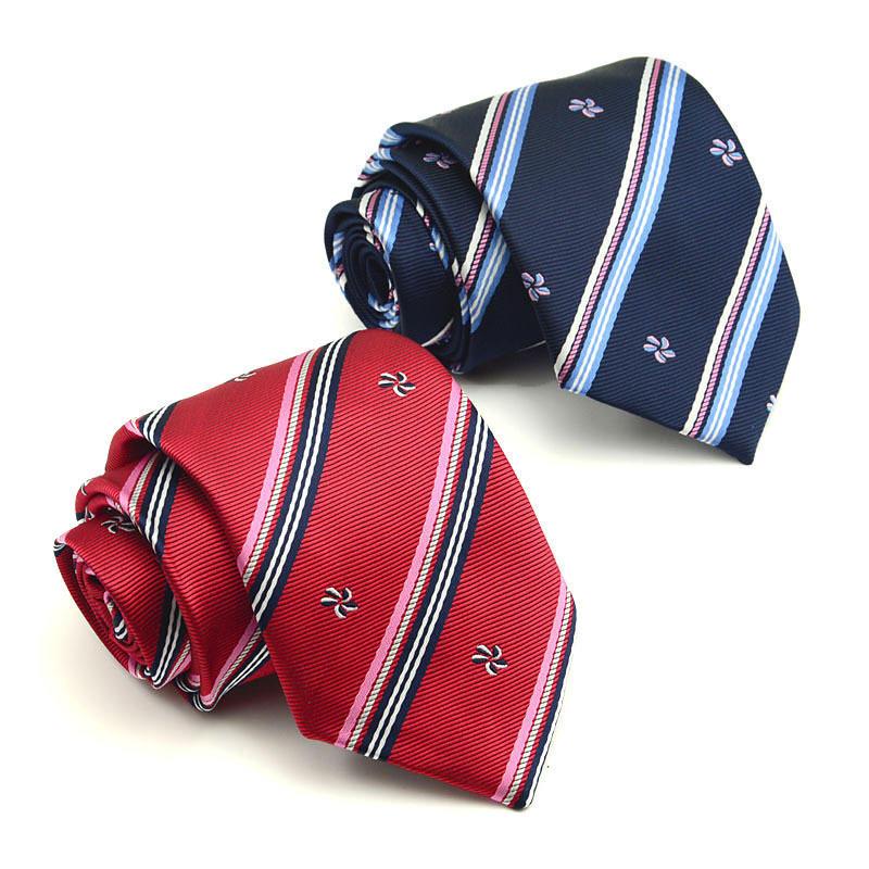 1 шт мода галстук для отдыха узкие галстуки полиэстер шелковой полосой голову стрелка галстук мод... галстуки