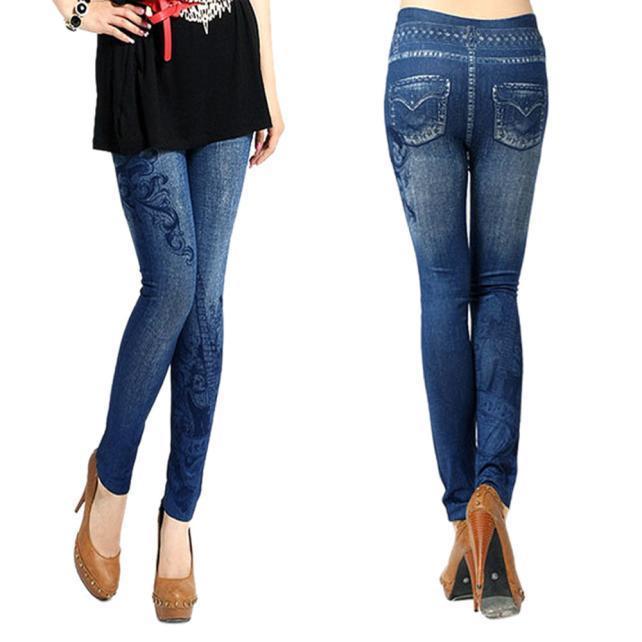 Горячие продажи женщин джинсы скинни Jeggings эластичные тонкие леггинсы узкие брюки джинсы узкие скинни с вышивкой для 10 16 лет