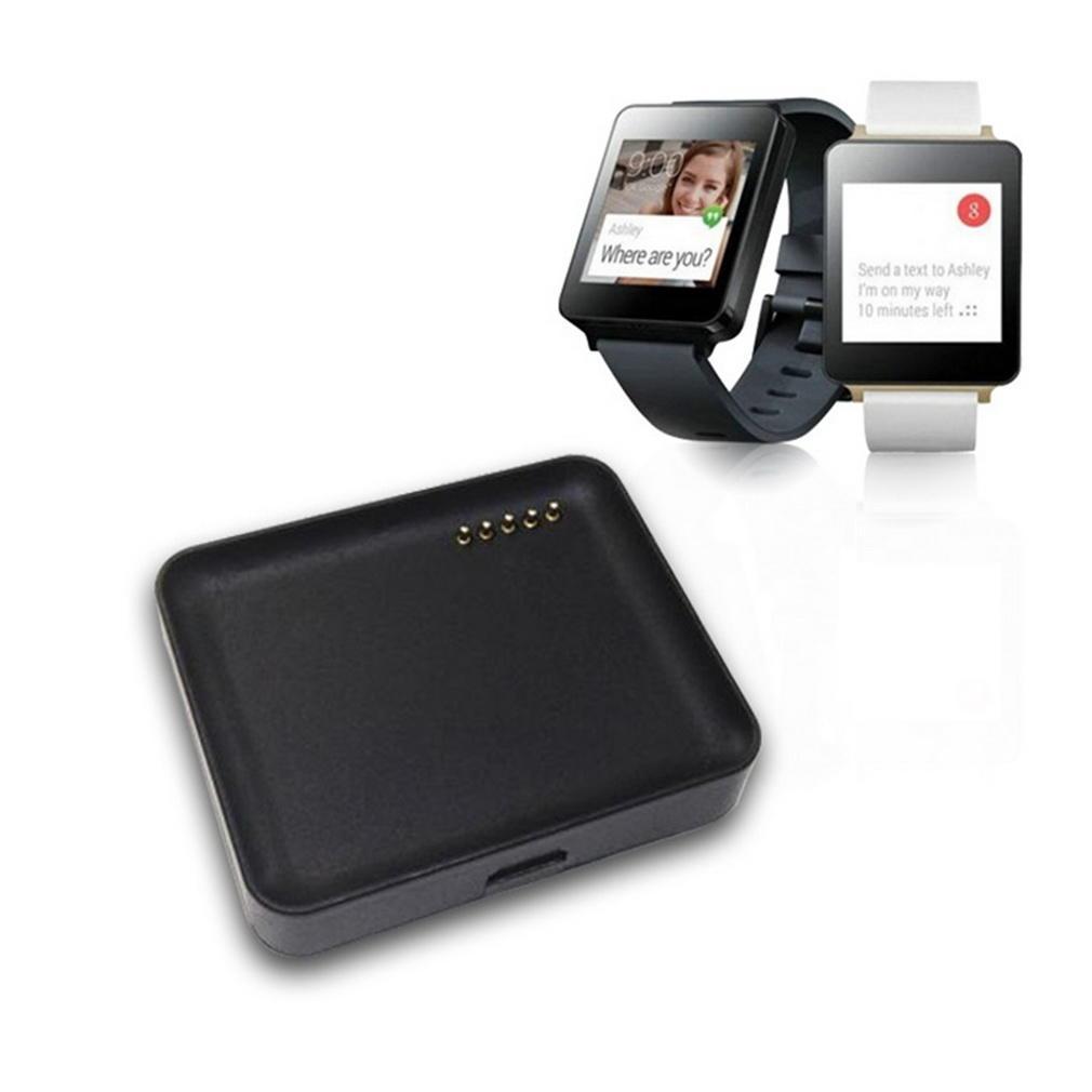 цена на Зарядка док колыбель для LG LG-W100 смарт-часы с кабелем USB зарядное устройство