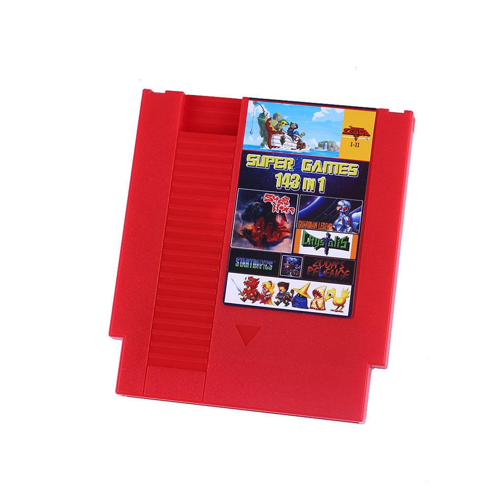 Видео игры 143 в 1 картриджа для NES версии США международного Доставка itap 143 2 редуктор давления