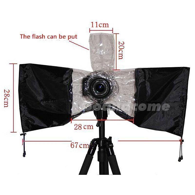 Фотоаппарат дождь покрытия непромокаемые пыли протектор для Nikon Canon Pentax Sony фотоаппарат