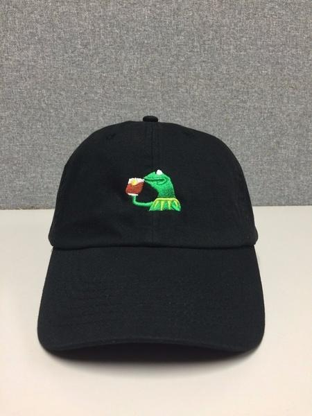 КЕРМИТ ЧАЙ Hat (слайд пряжки) ни один из моего бизнеса Emoji король Леброн Джеймс Meme хай хэт и контроллер для электронной ударной установки zildjian gen16 buffed bronze 14 hi hat