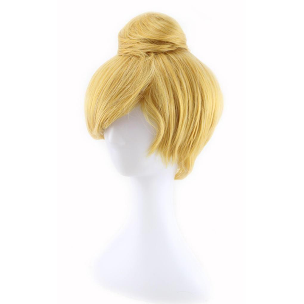 Женщины синтетических короткий прямой мультфильм косплей парик с булочки для Cosplay костюм платье аксессуары для косплея neko cosplay