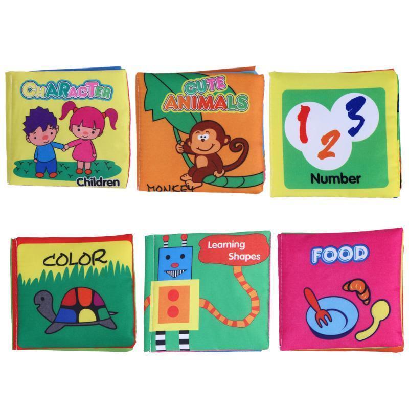 Детские игрушки пискливый тканью книга для детей Детские игрушки (персонаж) игрушки для детей