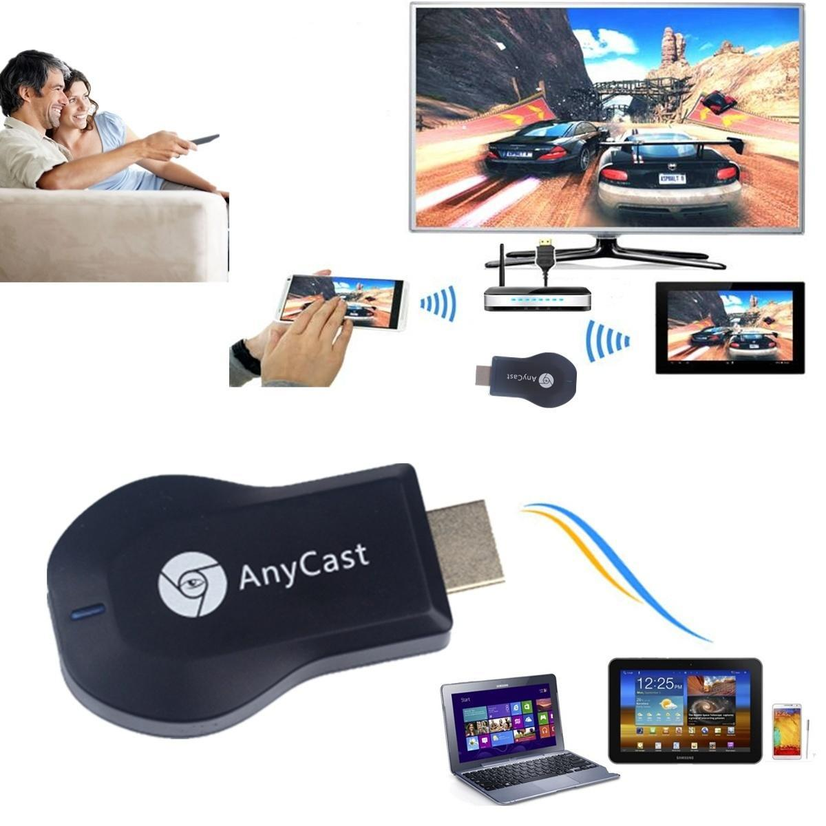 AnyCast м2 плюс WiFi отображения Dongle Miracast ТВ Dongle Airplay HDMI DLNA 1080P mele cast s3 tv stick wifi display adapter miracast airplay dlna support