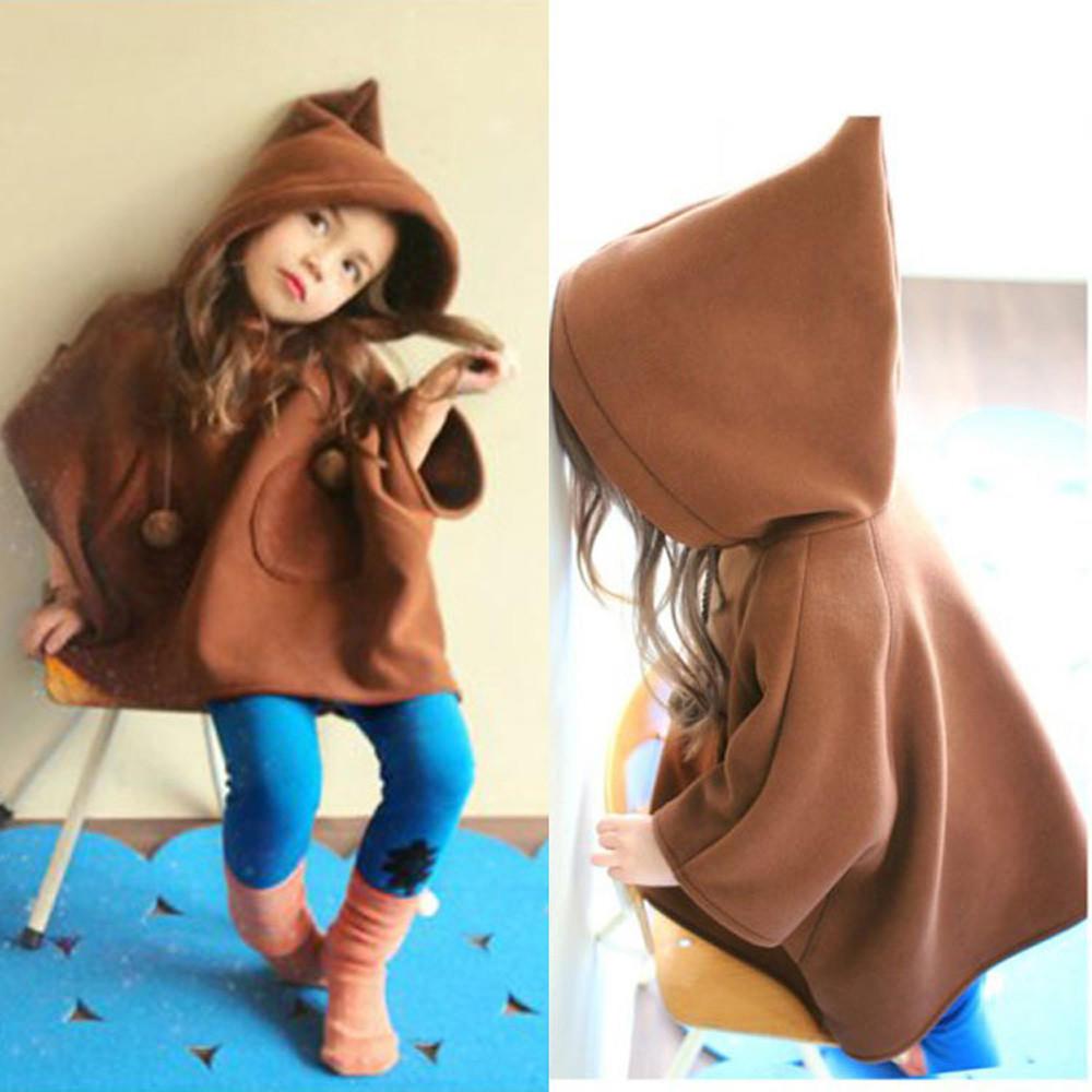 Мода для детей с капюшоном Пальто Верхняя одежда теплый ребенка Ветер пальто куртки одежда Одежда... одежда для детей
