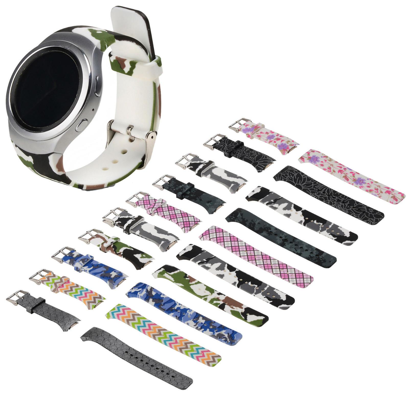 цена на Силиконовые часы группа ремешок для Samsung Galaxy Gear S2 SM-R720