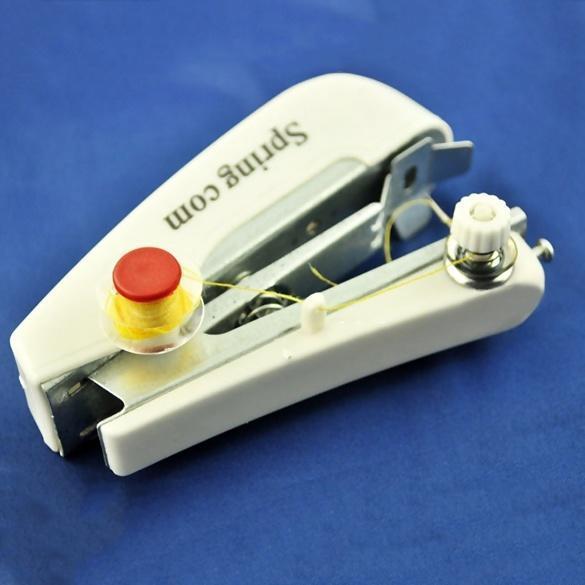Портативный ручной швейная машина мини-Одежда ткани портативные карманные NFCO швейная машина vlk napoli 2400